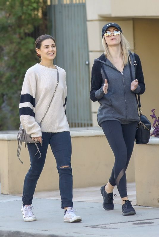 Danielle Campbell Having lunch in West Hollywood