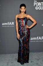 Danielle Herrington At amfAR New York Gala in NYC