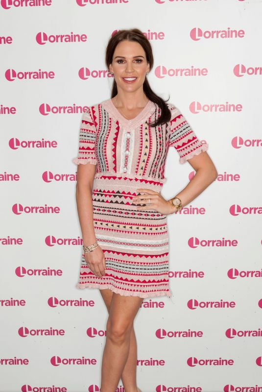 Danielle Lloyd At Lorraine TV Show in London