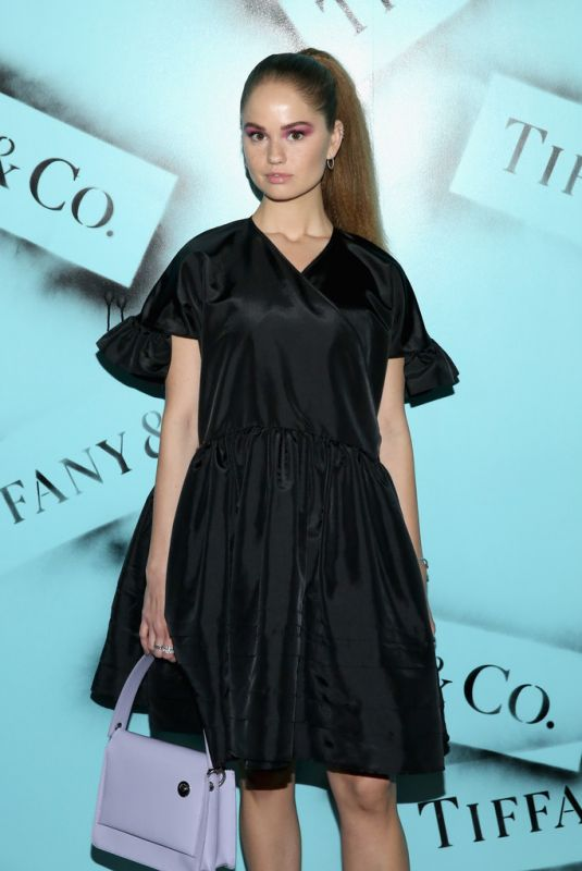 Debby Ryan At The Tiffany & Co. Modern Love Photography Exhibition in New York City
