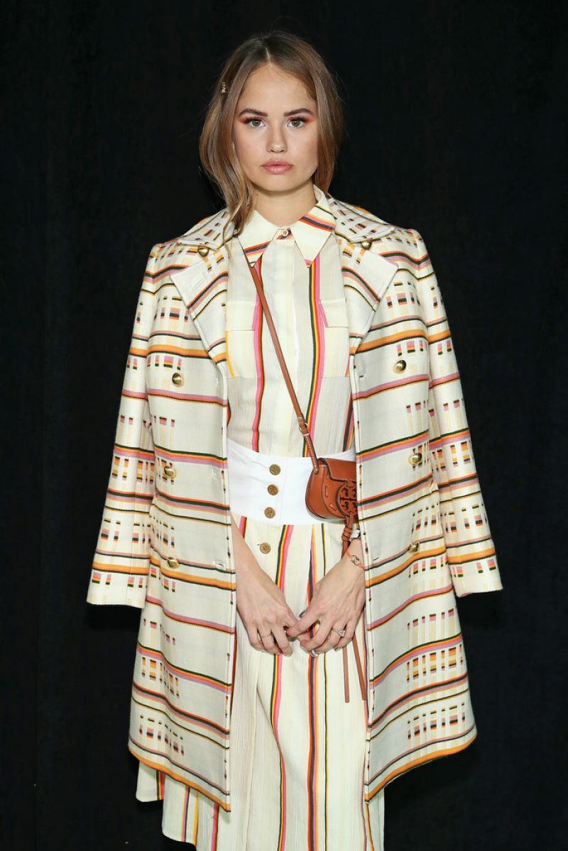 Debby Ryan At Tory Burch show at New York Fashion Week ...