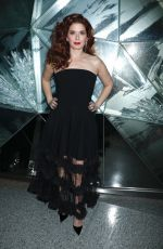 Debra Messing At Christian Siriano show, Front Row, Fall Winter 2019, New York Fashion Week