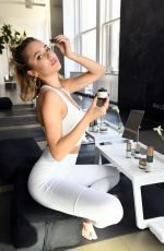 Delilah Belle Hamlin At Flow Into Fashion Week with Biossance & Alo Yoga in NYC