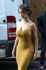 Demi Rose At The London Fashion Week