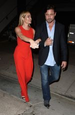 Denise Richards Arrives at Bravo