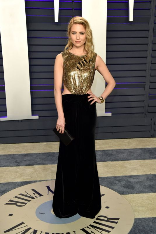 Dianna Agron At 2019 Vanity Fair Oscar Party in Beverly Hills