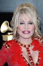 Dolly Parton At 61st Annual Grammy Awards Los Angeles