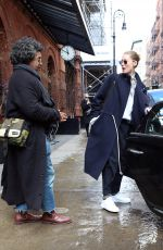 Doutzen Kroes Out in NYC
