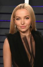 Dove Cameron At 2019 Vanity Fair Oscar Party in Beverly Hills