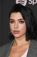 "Dua Lipa At Spotify ""Best New Artist 2019"" Event in Los Angeles"