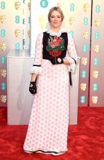 Edith Bowman At 72nd British Academy Film Awards in London