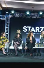 Ella Purnell At Starz Winter TCA Panel & All-Star After Party in LA