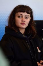 Ella Purnell Spotted at LAX Airport in Los Angeles