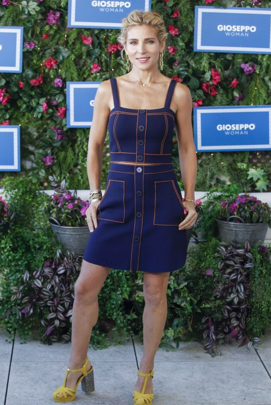 Elsa Pataky At Spring-Summer 2019 collection by Gioseppo Woman at Picalagartos Sky Bar in Madrid, Spain