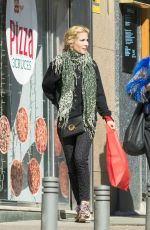 Elsa Pataky Shopping at Burlesque Wig shop in Madrid