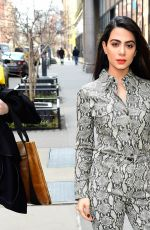 Emeraude Toubia Outside the AOL Build Series NYC studios in New York City
