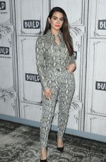 Emeraude Toubia Visits the AOL Build Series to discuss