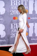 Emily Atack At Brit Awards 2019