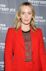 Emily Blunt At Special New York Screening of