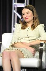 Emily Browning At 2019 Winter TCA Tour Day 15 in Pasadena