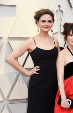 Emily & Zooey Deschanel At 91st Annual Academy Awards in LA