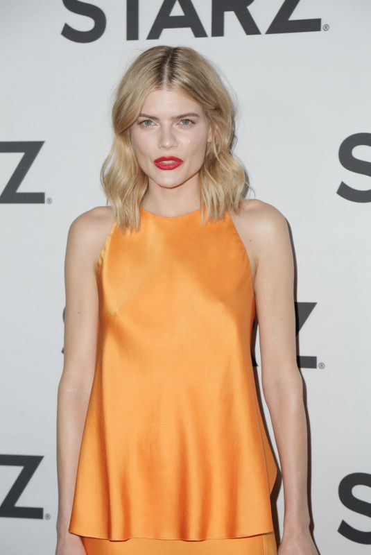Emma Greenwell At STARZ TCA Red Carpet Event at 71Above in Los Angeles