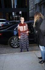 Emma Roberts At Long Champs Fashion Show in NYC