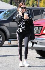 Emma Roberts Steps out for a coffee in Los Feliz