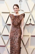 Emma Stone At 91st Annual Academy Awards in Los Angeles
