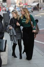 Florence Pugh Arrives at TV Studios in a happy mood and casual look in London