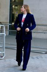 Florence Pugh At BBC Radio 1 Studios, London