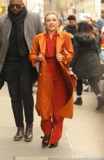 Florence Pugh At Build Series in New York