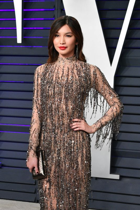 Gemma Chan At 2019 Vanity Fair Oscar Party in Beverly Hills