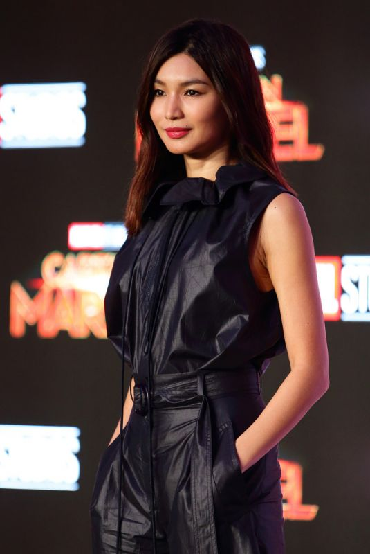 Gemma Chan At press conference for