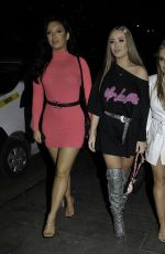 Georgia Harrison,Alexandra Cane,Tyne-Lexy heads to Neighboughood in Manchester