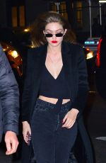 Gigi Hadid Leaving a party in NYC