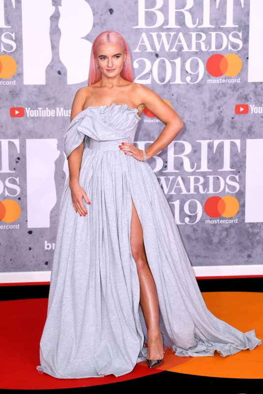 Grace Chatto At The BRIT Awards 2019 held at The O2 Arena in London