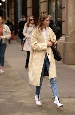 Grace Elizabeth Out and about in New York City