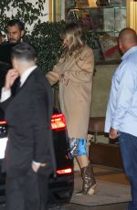 Gwyneth Paltrow Exits the Sunset Tower Hotel after celebrating Jennifer Aniston