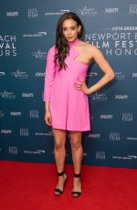 Hannah John-Kamen At Newport Beach Film Festival UK Honours Event in London