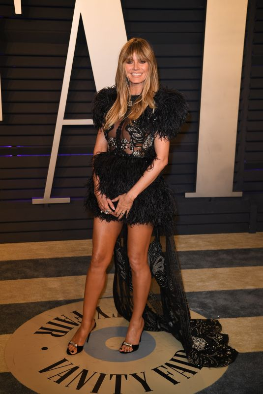 Heidi Klum At 2019 Vanity Fair Oscar Party hosted by editor Radhika Jones held at the Wallis Annenberg Center in Beverly Hills