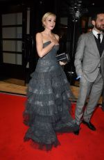 Helen George At 72nd British Academy Film Awards Gala, The Savoy, London