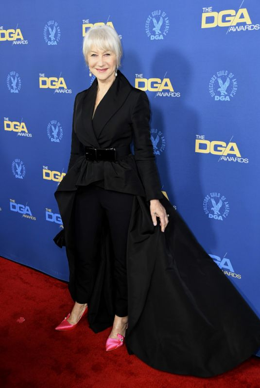 Helen Mirren At 71st Annual Directors Guild Of America Awards at The Ray Dolby Ballroom in Hollywood