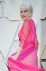 Helen Mirren At 91st Academy Awards Los Angeles