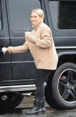 Hilary Duff Out for coffee in LA