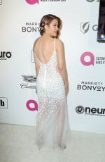 Hilary Roberts At Elton John AIDS Foundation Viewing Party in Los Angeles
