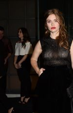 Holland Roden Leaving the Giorgio Armani Pre-Oscar Party in Los Angeles