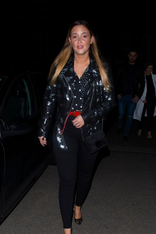 Jacqueline Jossa At Sheesh Restaurant in Essex