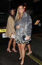 Jacqueline Jossa Out enjoying a girls night out in London