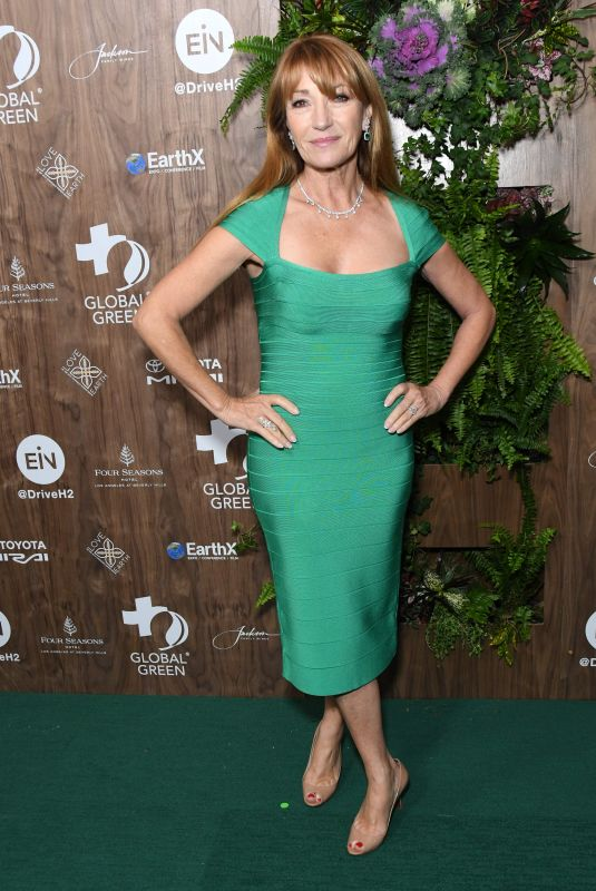 Jane Seymour At Global Green Pre-Oscar Gala, Los Angeles